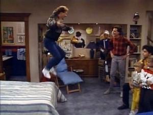 Full House basement, Joey's bachelor pad