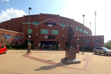 Chickasaw Bricktown Ballpark in Oklahoma City, Oklahoma City Redhawks