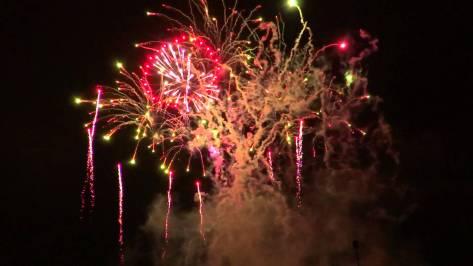 Fireworks at LibertyFest in Edmond, OK