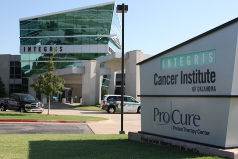 The INTEGRIS Cancer Institute and Procure Proton Therapy Center near Deer Creek, OK