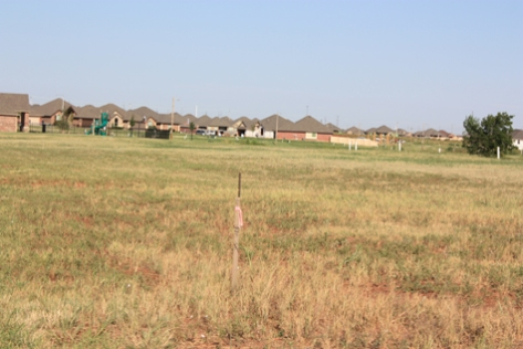 Plots of land ready for build use at Deer Creek Park