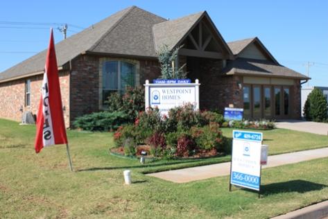Westpointe Show Home in the Deer Creek Park neighborhood, Oklahoma
