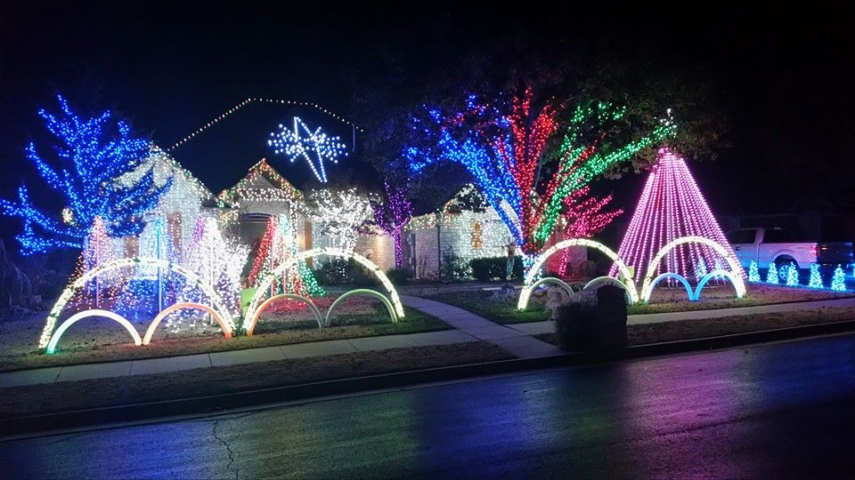 Edmond Christmas Lights Guide 2014 | Brad Reeser – Keller Williams ...