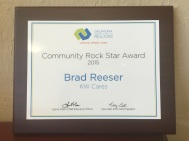 community rock star award 2015
