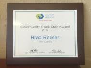 community rock star award 2015