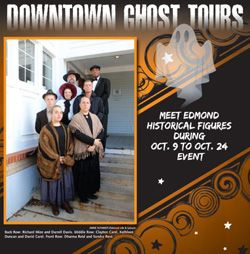 Downtown Edmond Ghost Tours